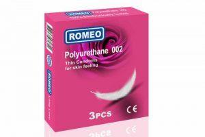 Romeo brand non latex polyurethane condoms look for global distributor