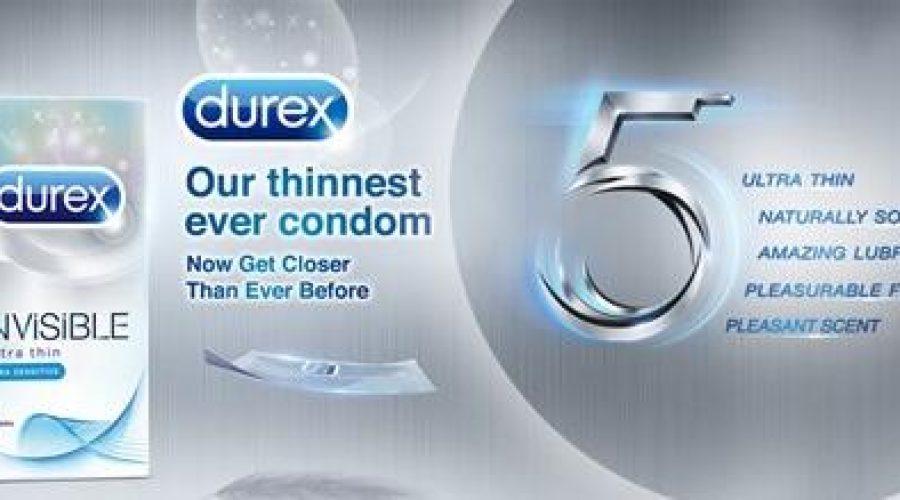 Durex Invisible Extra Sensitive Thinnest Ever Condom