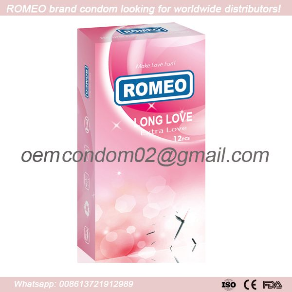 ROMEO Long Love Condom give you extra love