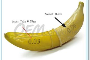 Thinnest textured condom for ultimate sensitivity