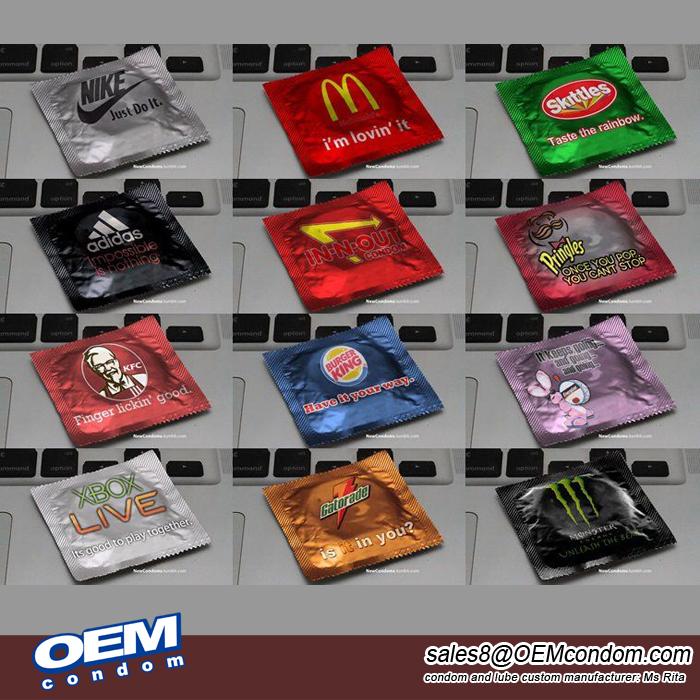 custom brand condom,adidas condom,LV condom